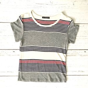 Brandy Melville one size stripe tee
